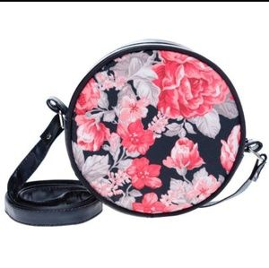 Handbags - Beautiful Floral Print PL Leather Crossbody